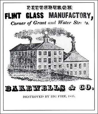 Glass Manufacturing: Pittsburgh, PA - Pittsburgh Flint Glass Manufactory