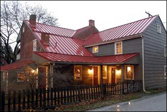 East Berlin Christmas House Tour - The Studebaker House built in 1790<br>