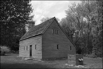 Historic New England Opens 36 Historic Properties  - Clemence-Irons House, 1691, Johnston, Rhode Island<br>