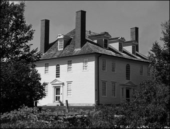 Historic New England Opens 36 Historic Properties  - Hamilton House, 1785, South Berwick, Maine