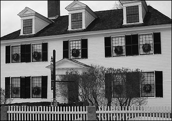 Historic New England Opens 36 Historic Properties  - Sarah Orne Jewett House, 1774, South Berwick, Maine